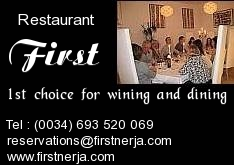 First Restaurant, Nerja