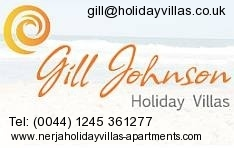 Gill Johnson Holidays