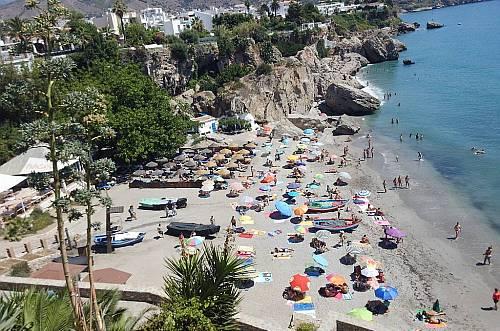 Calahonda beach, Nerja