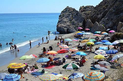 Carabeo beach, Nerja