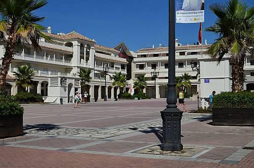 Plaza de Espa�a, Nerja