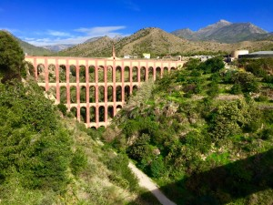 Eagel Aqueduct and Vegetation