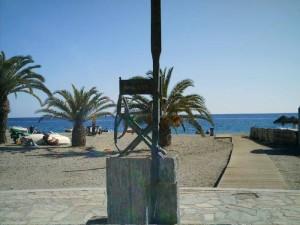 Antonio Mercero chair, Burriana beach