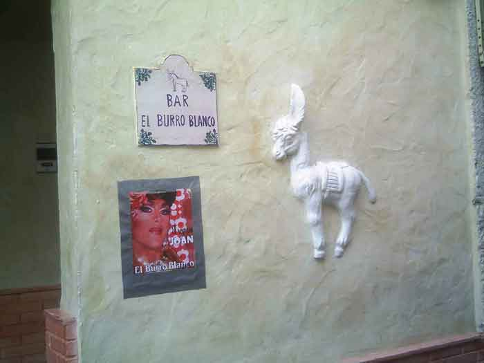 El burro blanco nerja today for Burro blanco