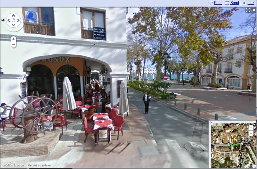 Google Street View for Nerja Nerja Today