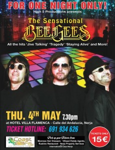 BeeGees tribute band Costa del sol