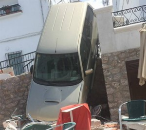 Frigiliana car accident Nerja