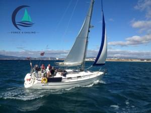 Sailing in nerja