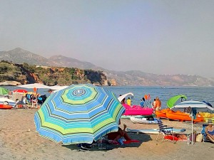 nerja beach fines