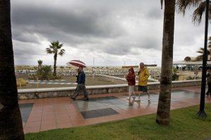 rain in Nerja