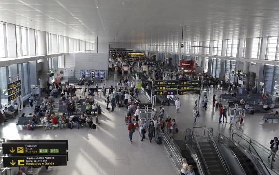 busy winter for malaga airport