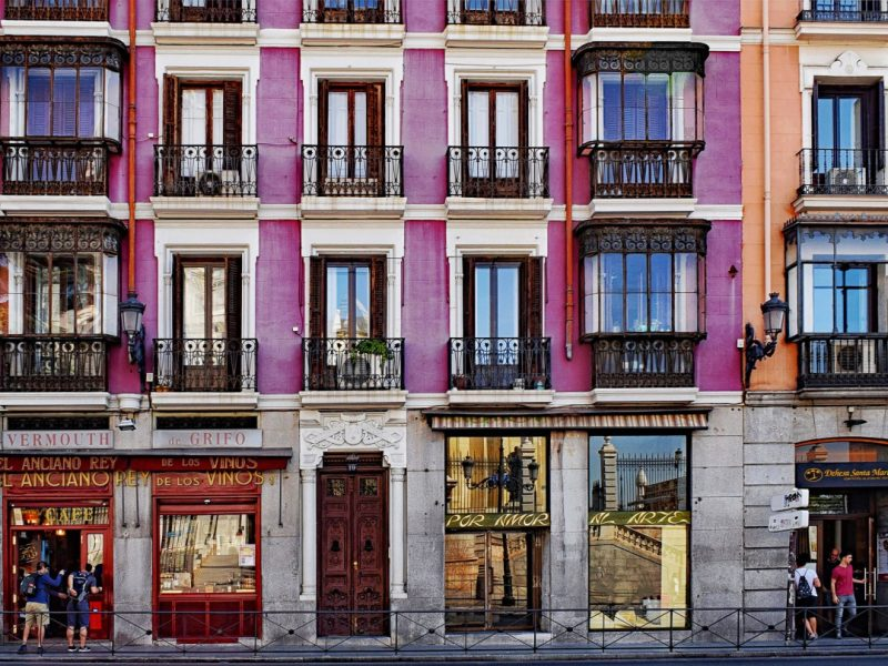 apartment building Spain