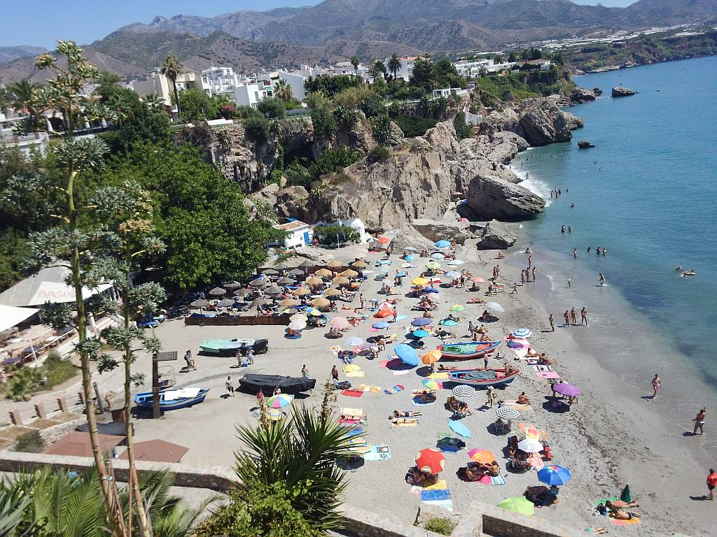 Nerja Beach Guide Calahonda Beach Nerja Today