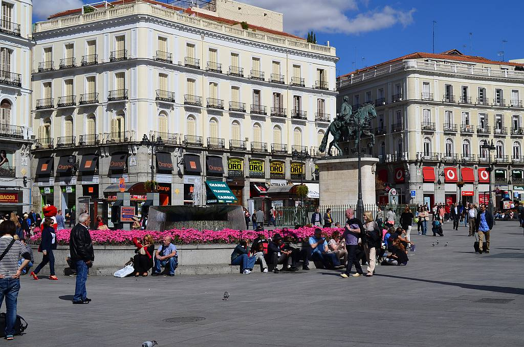 Puerta del sol madrid nerja today for Puerta del so