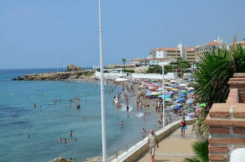 Torrecilla beach, Nerja