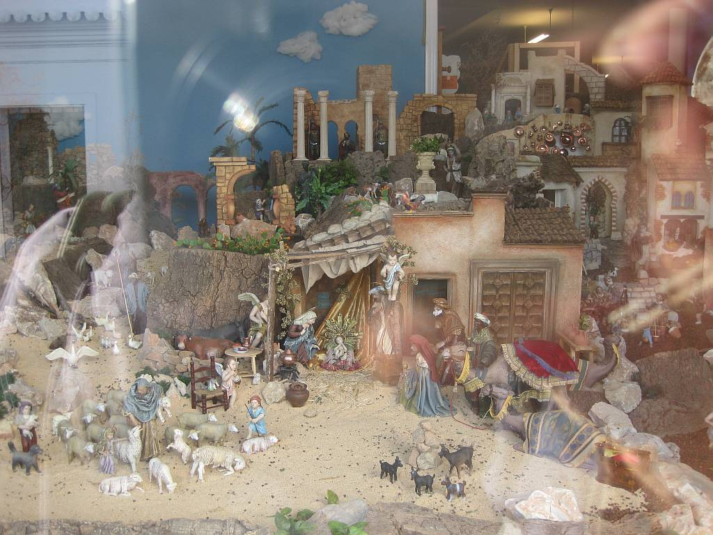 Nativity Scene In Calle Pintada Nerja Today # Muebles Hermoso Nerja
