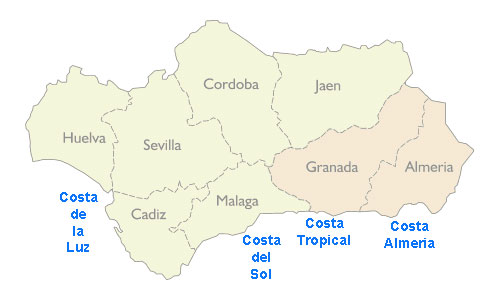 andaluciaprovincesmap