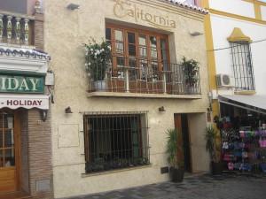 California restaurant, Nerja