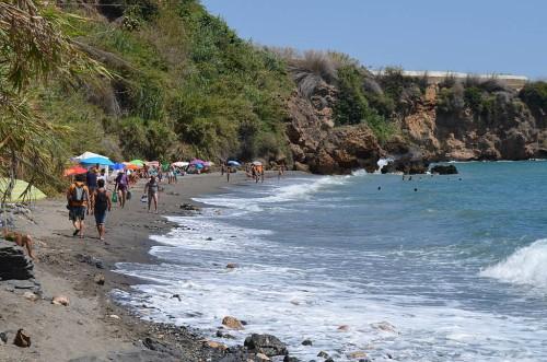 La Caleta beach, Maro