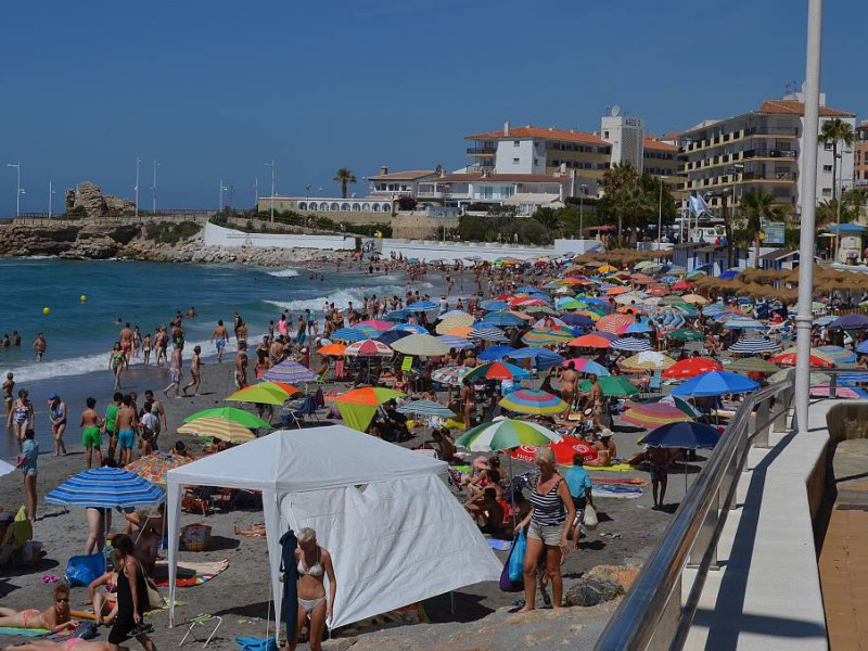 Numbers of visitor numbers to Nerja increase during Brexit concerns