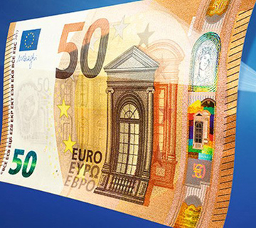 new 50 euro notes, Spanish currency