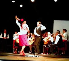 Dancing in Nerja