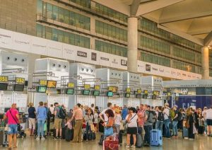 Malaga airport visitor numbers increase during Brexit concerns