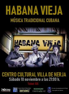 Cuban musiic in Nerja