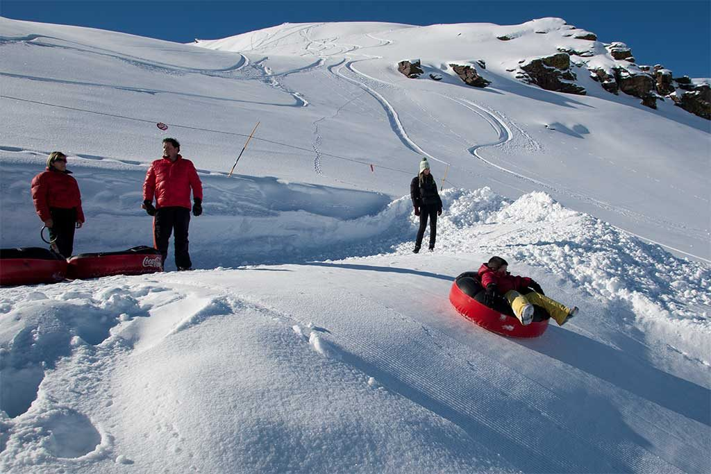 sierra nevada ski slopes inflatable rings