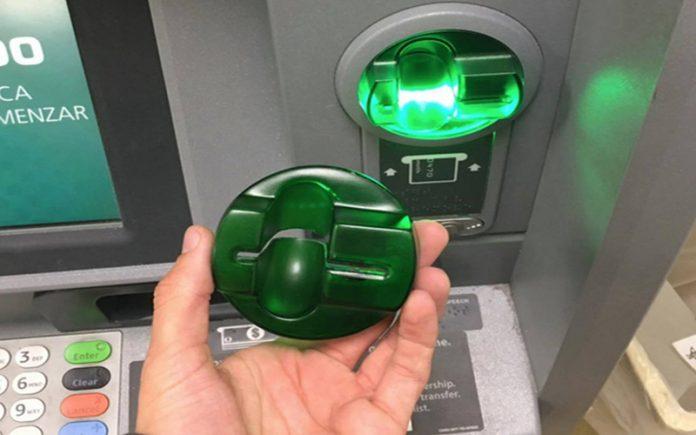 cash machine skimmer