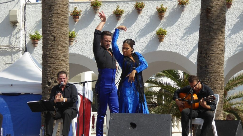 Flamenco show in Nerja