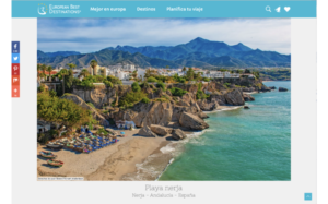 Nerja best beach award