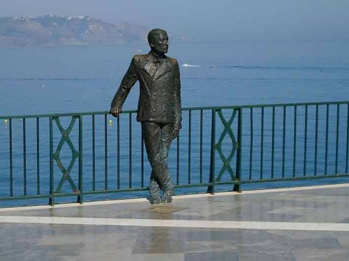 King Alfonso statue, Nerja