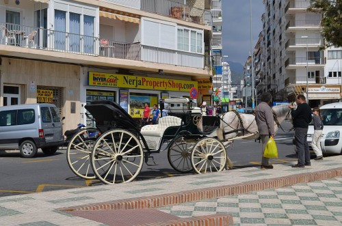 Carriage rides, Nerja