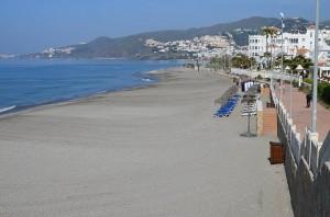 El Chucho beach, Nerja
