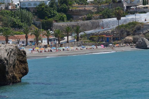 El Salon beach, Nerja