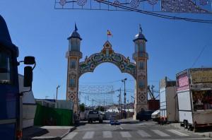 Feria entrance