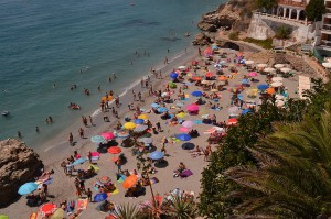 Beach holiday, staying in Nerja
