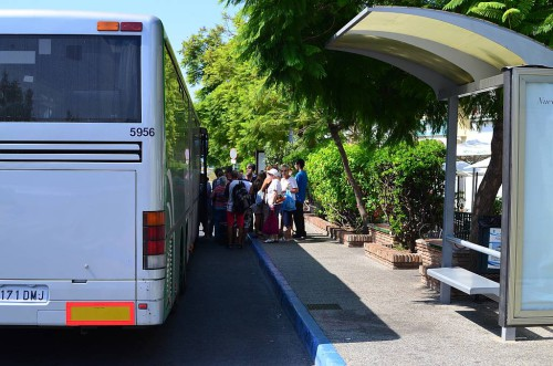 Nerja Bus Station taxi rank