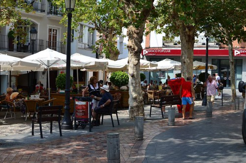 Plaza Cavana, Nerja