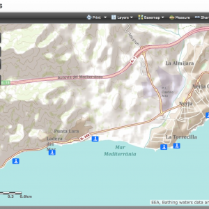 Water quality in Nerja