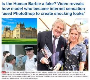Mail Online, Barbie
