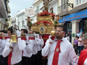 Easter Sunday parade, Nerja