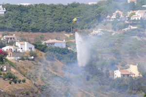 Frigiliana fire